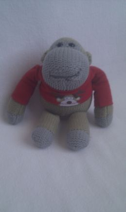 Adorable PG Tips 'Christmas Reindeer' Collectable Monkey Plush Toy